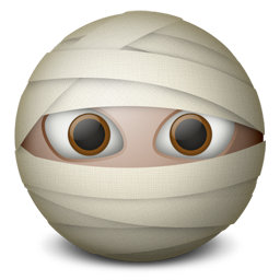 Mummy emoticon-256