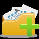 Open folder add-128