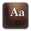 Dictionary rounded Icon