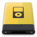 HDD Yellow iPod-128