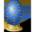 Blue Easter Egg icon