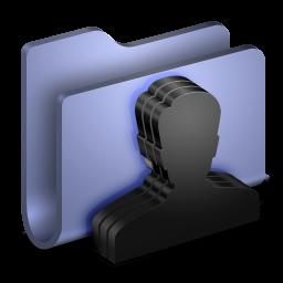 Group Blue Folder