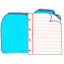 Folder b documents icon