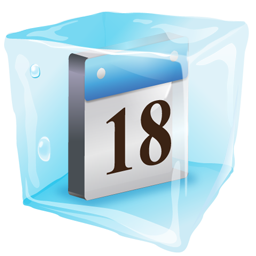 Date Icon Ice