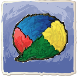 Google Buzz painting