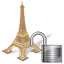 Eiffel Tower Unlock icon