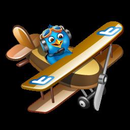 Twitter flying boy