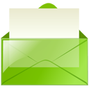 Mail green-128