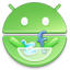 Android Market round icon