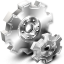 3D Gears Icon