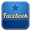 Facebook retro icon