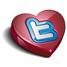 Twitter heart