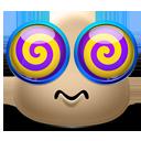 Emoticon Dizzy-128