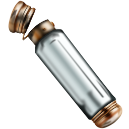 Sample vial empty