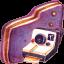 Photo Violet Folder icon