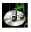 Music hand drawn Icon