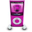 Pink iPod Nano-128