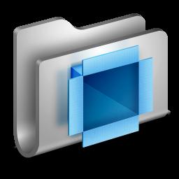 DropBox Metal Folder