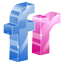 Flickr 3D icon