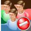 Group Cancel Icon