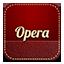 Opera retro icon