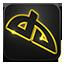Deviantart neon glow icon