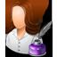 Writer Female Light icon