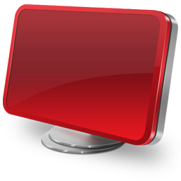 Computer red