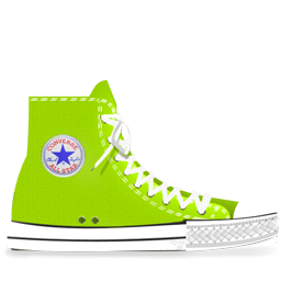 Converse Lime