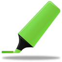 Highlightmarker green-128