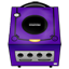 Gamecube purple-64