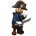 Lego Captain Barbosssa-128