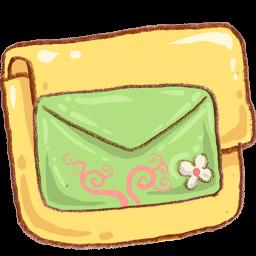 Folder Mail Green