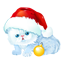 Christmas Kitty Icon