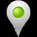 Map Marker Marker Inside Chartreuse-128