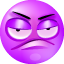 Snuffy purple Icon
