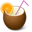 Pina Colada Cocktail Icon
