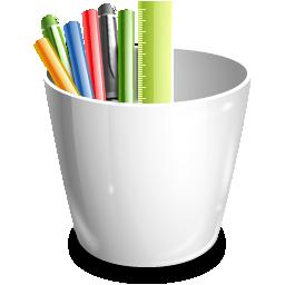 Office Pencil Pot