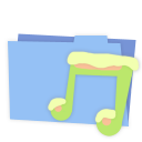 Blue folder music-128