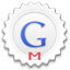 Gmail round icon