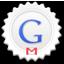 Gmail round icon