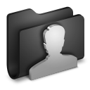 User Black Folder-128