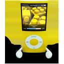 Yellow iPod Nano-128