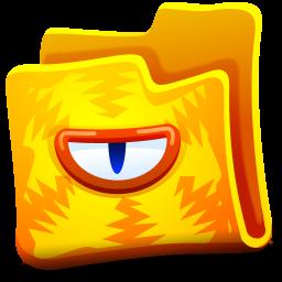 Creature Yellow Folder