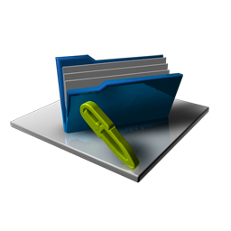 Blue Folder Full Edit