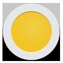 Yellow Circle-128