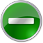 Minus circle green Icon