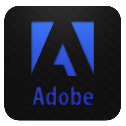 Adobe logo blueberry