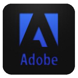 Adobe logo blueberry