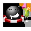 Cocktail emoticon-128